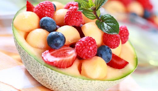 Coppa Melone con Crema Vaniglia