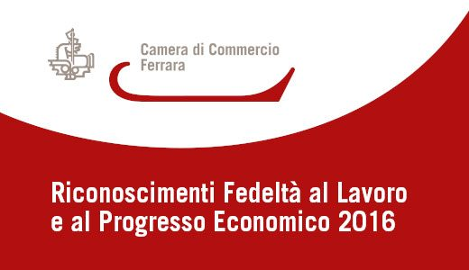 Riconoscimento al Progresso Economico 2016