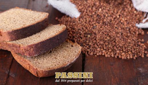 Pane di grano saraceno per celiaci